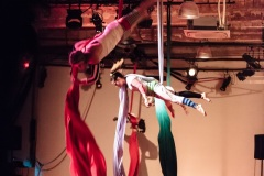Hamilton Aerial Group's La Nuit du Frisson at 270 Sherman